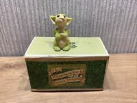 Whimsical World Of Pocket Dragons Figurine  Boxed Rare Retired You Can't Make Me