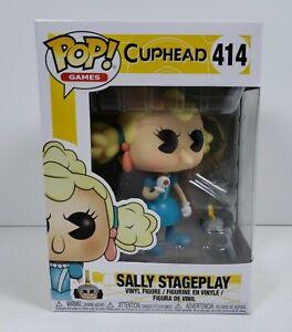 (DAMAGED BOX) Funko POP! Sally Stageplay #414 Cuphead Vinyl Figure