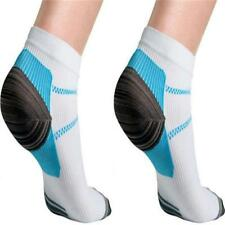 2pcs Foot Anti Fatigue Compression Sleeve Circulation Ankle Socks Relief Pain/S6
