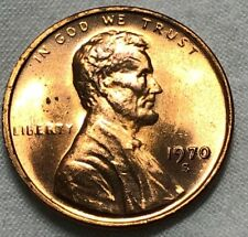 1970 S Lincoln SMALL DATE Memorial Cent 1c ~ BU Red Uncirculated
