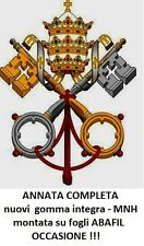 VATICANO 2003 - Annata completa + congiunte - nuovi - MNH - Montata su ABAFIL