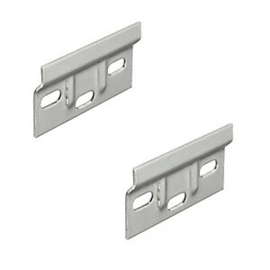 2x Pack of Kitchen Cabinet Hanging Bracket Wall Mounting Hanger Plate 63x38mm