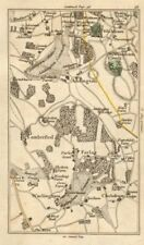 CROYDON Wickham West Wickham Addington Sanderstead Farley Warlingham 1786 map