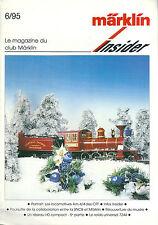 Märklin Insider # 6 1995 train réseau ferré HO Modélisme Locomotive AM 4/4 SNCB