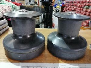 TWO SPEED WINCHES 43. YACHTS BOATS SAILING