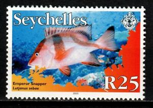 Seychelles stamps 2005 R25 MNH Fish