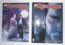 Star Comics ROURKE Numero 0 + 1 Le Predilette Della Luna FEDERICO MEMOLA Fumetto