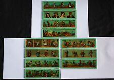11 plaque verre lanterne magique projection 18*5 humour caricature