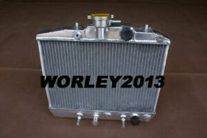 Aluminum radiator for Honda City 1.2L 1984 1985 1986
