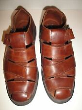 KENNETH COLE BROWN LEATHER SANDALS MENS SIZE 9.5