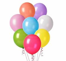 """100pk Assorted Latex 12"""" Balloons Birthday Party Decorations Supplies"""