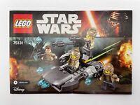 LEGO Star Wars Resistance Trooper Battle Pack Set 75131 *NO MINI-FIGURES*