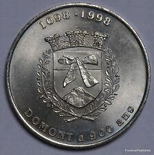 DOMONT A 900 ANS     2 EURO TEMPORAIRE DES VILLES   1082A320
