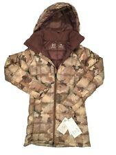 NEW Burton Womens AK Baker Down Jacket!   800 Fill RDS Down Puffer   Storm Camo