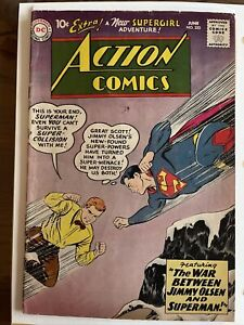 Action Comics #253 2nd Appearance Supergirl, Origin Retold