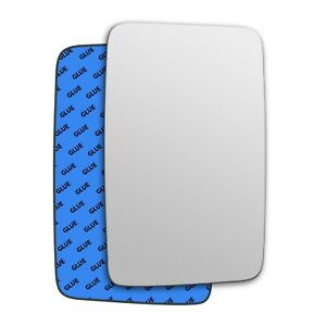 Right wing adhesive mirror glass for Iveco Turbodaily 1980-1990 57RS