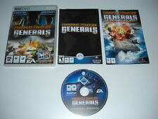 COMMAND AND & CONQUER C&C GENERALS DELUXE Inc. ZERO HOUR Apple MAC - Universal