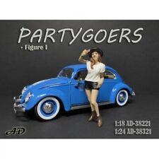 American Diorama 38221 Partygoers Frau mit Hut 1:18 Figur 1/1000