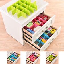 Adjustable Grid Drawer Dividers DIY Closet Separator Organizer Container 32*7cm