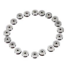 5PCS 3*12*4mm Skateboard Bearing Miniature Bearing V-groove bearings V623ZZ AU