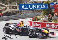 DAVID COULTHARD Red Bull F1 Foto 20x30 orignal signiert IN PERSON Autogramm