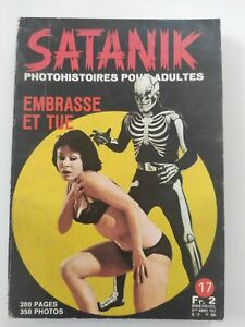 roman photo pour adultes Satanik n° 17, 1967