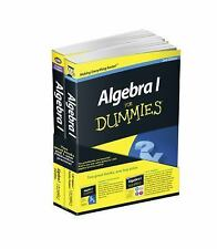 Algebra I: Learn and Practice 2 Book Bundle with 1 Year Online Access (For Dummi