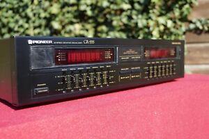 Pioneer GR-555 Equalizer mit Spektrum Analyzer 2 x 7 Band