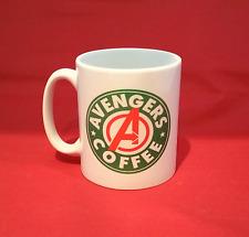 Marvel Avengers Starbucks inspirado Taza De Café 10 Oz