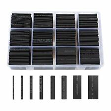 650 Pcs Heat Shrink Tubing Wire Wrap Assortment Set Waterproof Electrical Cable