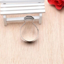 diamond ring stainless steel cutter biscuit cookie mold baking decor tool