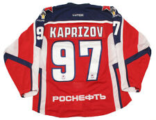 CSKA Moscow KHL 2018-19 PRO Russian Hockey Jersey K. Kaprizov DK 52