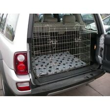 PET WORLD NEW LAND ROVER FREELANDER 97-06 SLOPING CAR DOG CAGE BOOT TRAVEL PUPPY