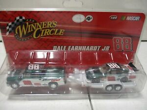 2008 Winner's Circle Dale Earnhardt Jr Crew Cab Car and Trailer 1/64