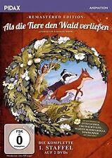 THE ANIMALS OF FARTHING WOOD : SEASON 1 remastered  -  DVD - PAL Region 2