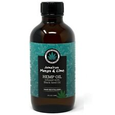 Jamaican Mango & Lime Hemp Oil Infused With Black Seed Oil 118ml