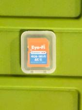 Eye-Fi  connect X2  4GB + Wi-Fi SD Card wifi Wireless Uploads