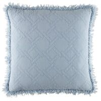 Bianca Hayes European Pillowcase Soft Blue $39.95