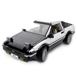 Toyota Sprinter Trueno GT Apex AE86 Sports Car Technical Brick Model - 1234 pcs