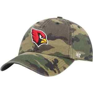 Arizona Cardinals '47 Camo Clean Up Adjustable On Field Cotton Hat NFL