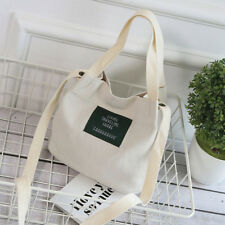 Women Korean Canvas Shoulder Bag Handbag Tote Messenger Satchel Crossbody Bag US