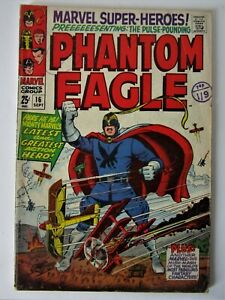 "Comics "" Marvel Super-Heroes ' # 16  ( Phantom Eagle )"