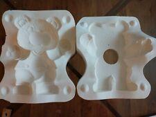 Gare 1985 L-1011 Wall Hanging Bear Slip Casting Ceramic Mold