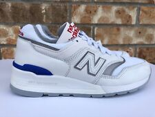 Men s New Balance 997 Classic Baseball Pack White Blue Red Made in USA  M997CHP d5a18c7a944b