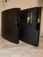 (2) Sony PS3 Playstation 3 Slim Consoles Only CECH-3001A/3001B -READ DESCRIPTION