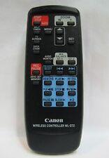 Canon WL-D72 Original Remote Control For Ultura - Guaranteed & Free Shipping