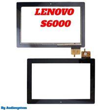 VETRO+TOUCH SCREEN LENOVO PER IDEATAB S6000 ZVLT 595 NERO X DISPLAY NUOVO S6000L