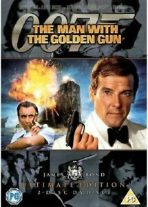 The Man With The Golden Gun - Ultimate edition DVD (Pal, 2010, 2-Disc Set)