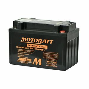 Motobatt MBTX9UHD Performance AGM Gel Motorcycle Battery Honda CB 1300 01-11
