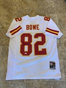 Dwayne Bowe Autographed Signed Jersey Kansas City Chiefs JSA